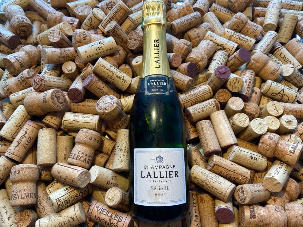 Champagne 1/2 bouteille Lallier Série R
